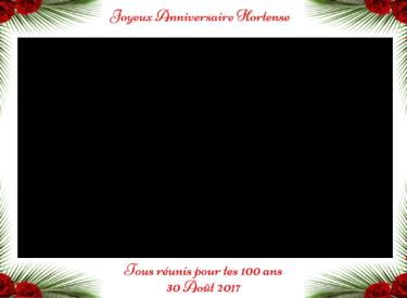 Photobooth - Joyeux Anniversaire Hortense30 Août 2017
